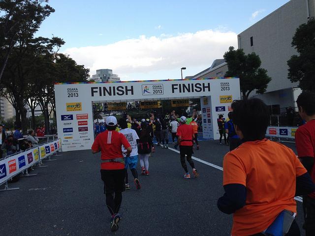 第8回大阪マラソン2018 結果速報・日程公認コース・関門制限時間!