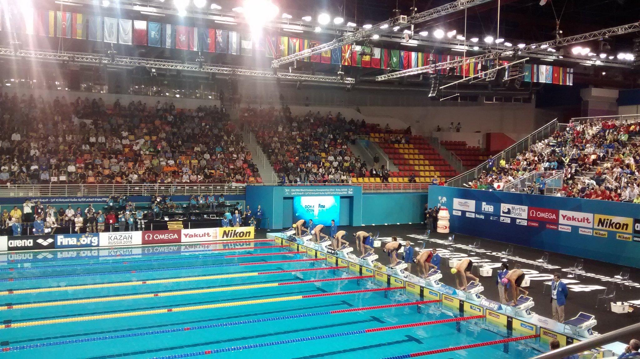 水泳競技競泳/飛込/AS 競技日程・結果速報の一覧!