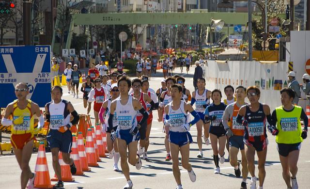 第12回東京マラソン2018、日程・コース・関門・テレビ放送!