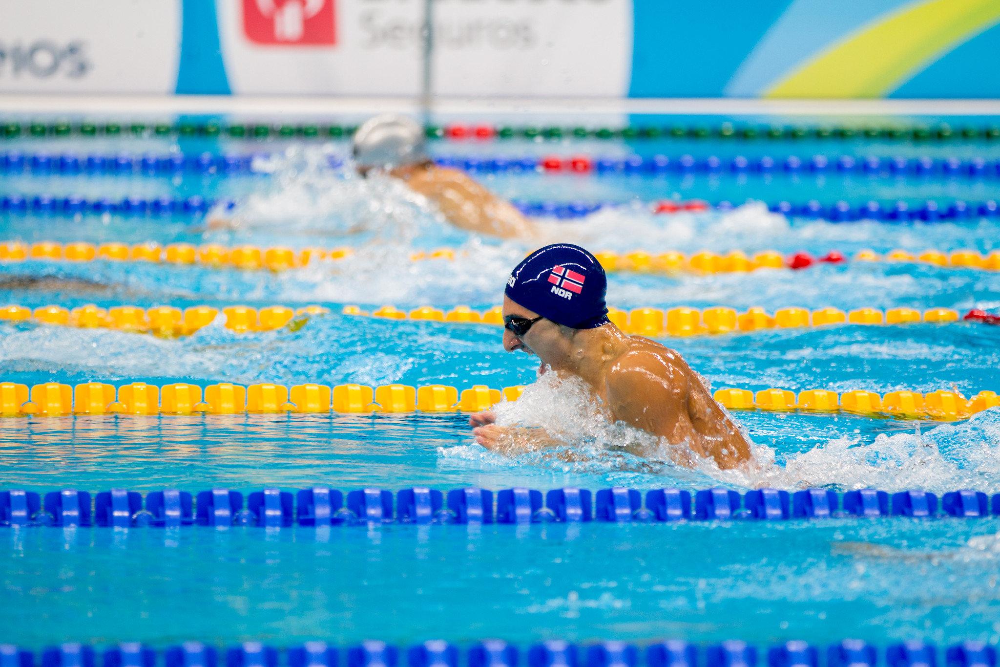 全国中学校水泳競技大会2019 結果速報男子・日程競泳