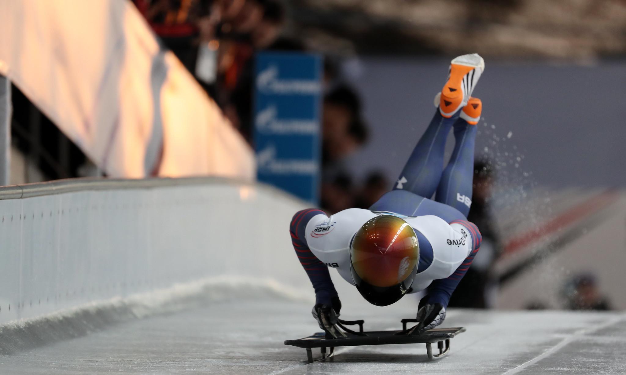 北京オリンピック・スケルトン2022結果速報・テレビ放送・出場選手