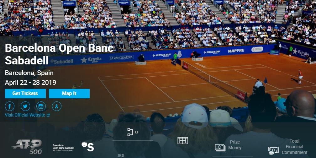 バルセロナ・オープン2019 錦織圭・結果速報ドロー・日程放送