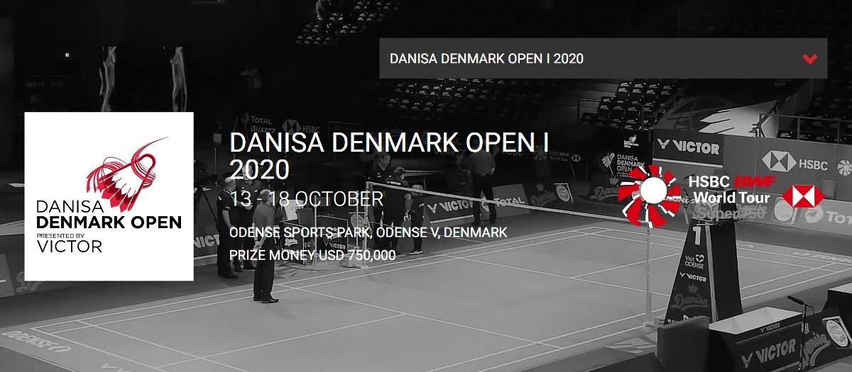 デンマークオープン2020結果速報バドミントン・ドロー日程放送・桃田賢斗