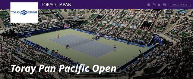 東レ パン パシフィックオープンテニス2018 大坂なおみ・試合結果速報・日程チケット!