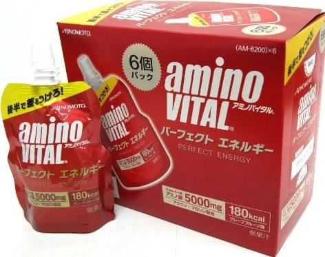 【味の素】アミノバイタル パーフェクトエネルギー 130g×6個