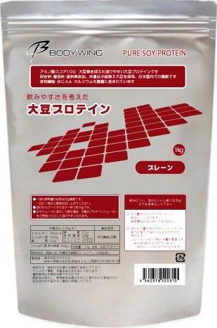 【ボディウイング】大豆プロテイン 1kg 無添加