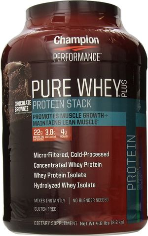 【Champion】Pure Whey Plus Chocolate Brownie 2.18kg