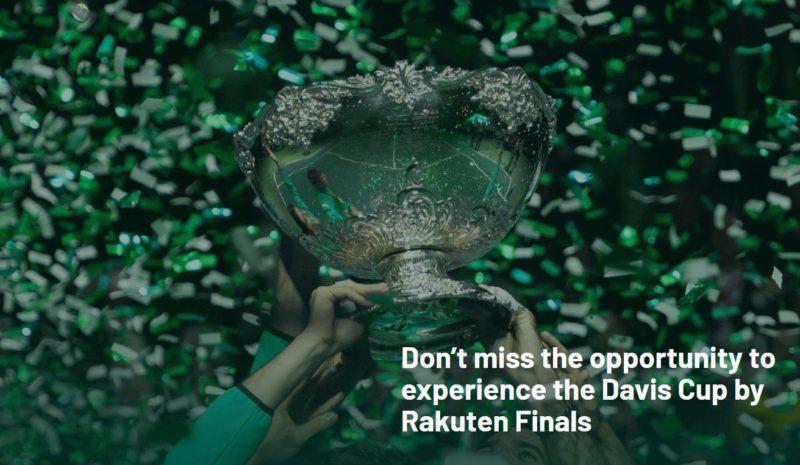 テニスデビスカップ・ファイナルズ2019結果速報・日程ドロー・出場選手