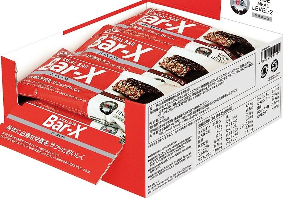 【DNS】バーエックス チョコレート風味 45g×12本入り