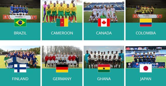 FIFA U-17女子ワールドカップ2018 試合結果速報・日本代表・日程テレビ放送!