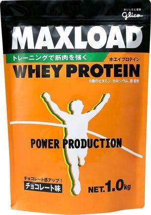 【グリコ】マックスロード チョコレート味 1.0kg