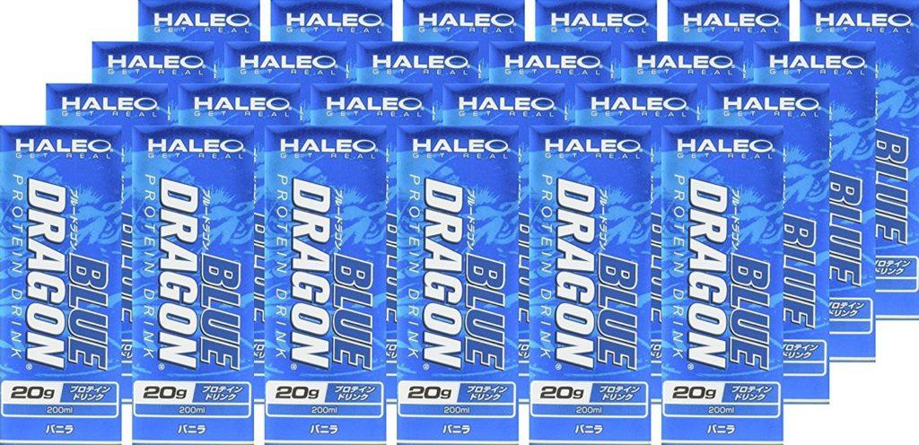 【HALEO】BLUE DRAGON 200ml x 24本セット バニラ