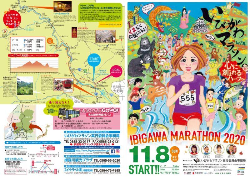 いびがわマラソン2020結果速報・エントリー・日程コース