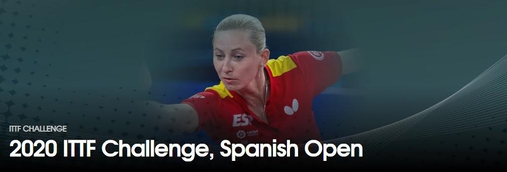 卓球スペインオープン2020結果速報・出場選手・日程ドロー