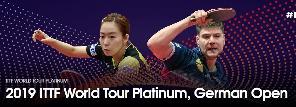 卓球ドイツオープン2019結果速報・出場選手日程