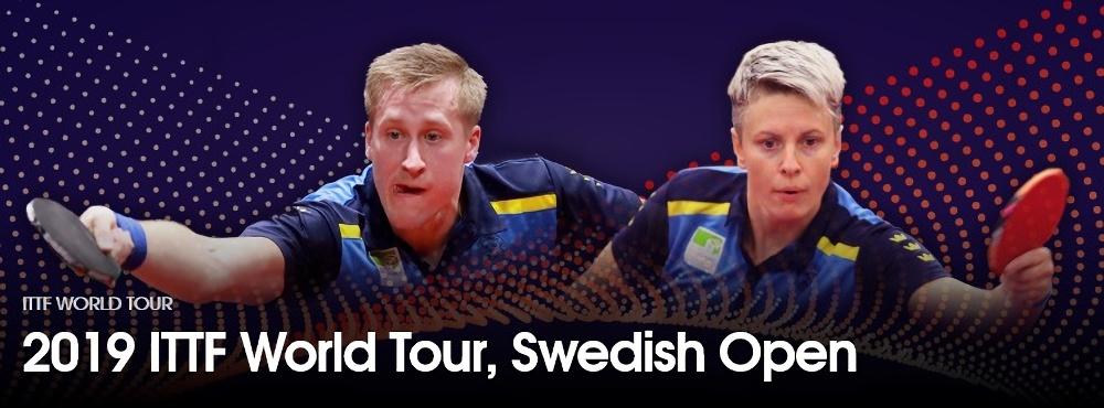 卓球スウェーデンオープン2019結果速報・日程