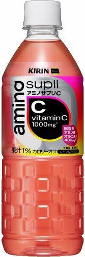 【キリン】アミノサプリC 555ml PET 24本「カロリーオフ」