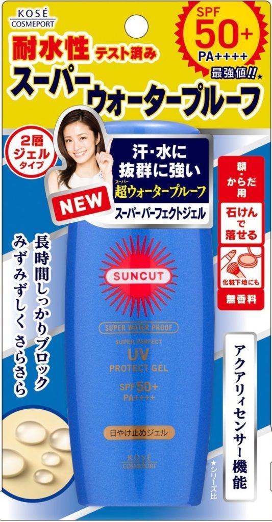 【コーセー】サンカット R 日焼け止めジェル 50 80g