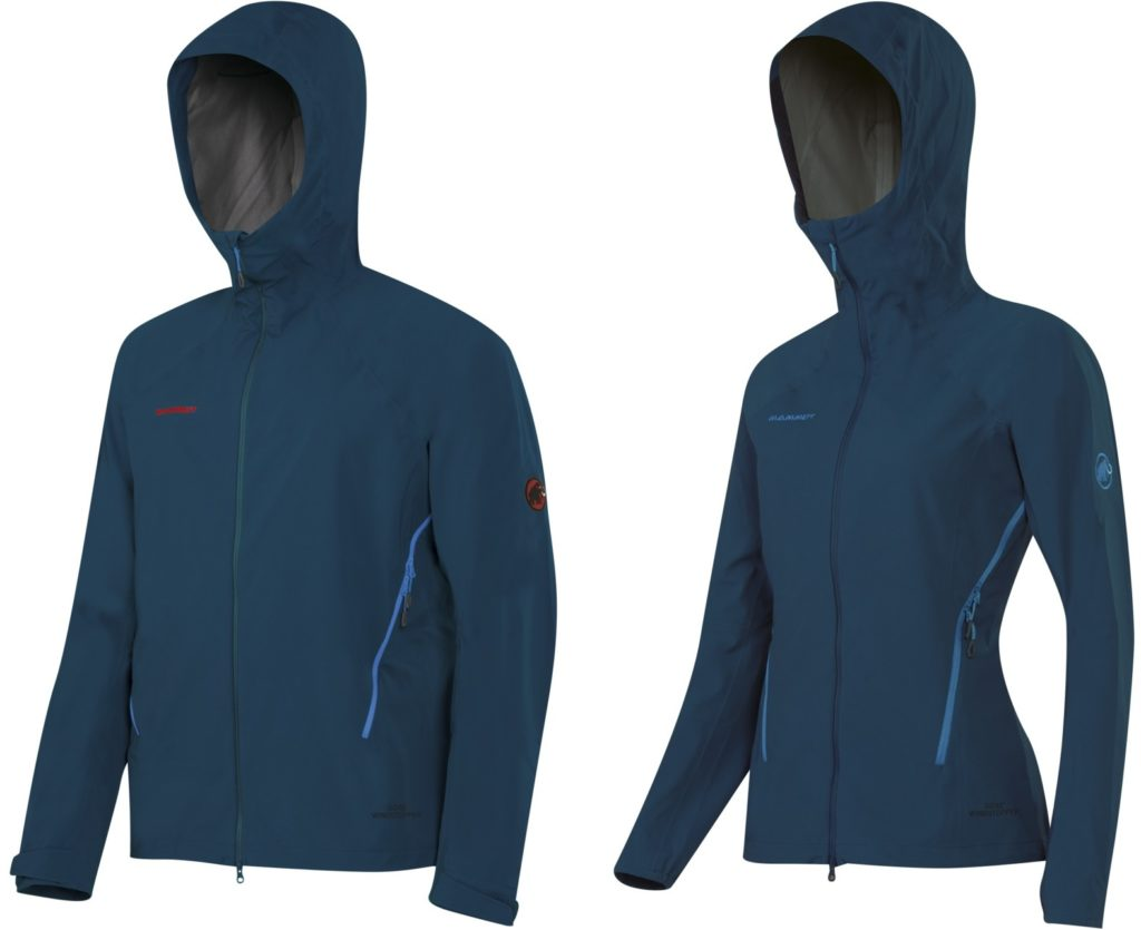 【マムート】ULTIMATE ALPINE SO HOODED JACKET AF