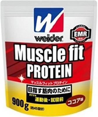 【森永製菓】ウイダー マッスルフィット プロテイン ココア味