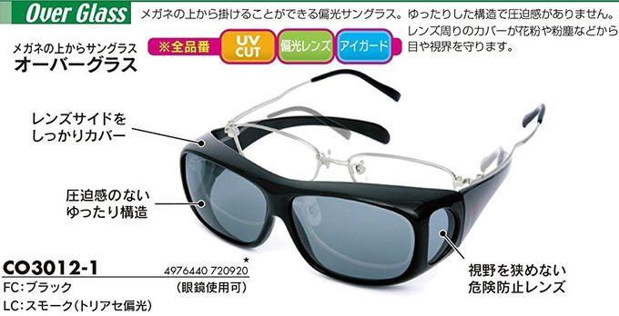 登山とメガネとサングラス