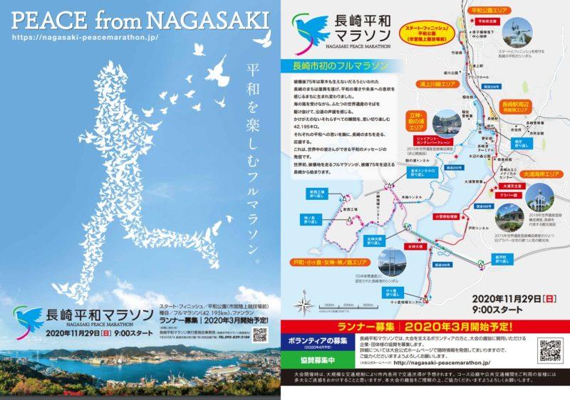 長崎平和マラソン2020結果速報・エントリー・日程コース
